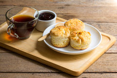 Orange English biscuit Royalty Free Stock Images