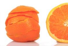 Orange enlevée Images libres de droits