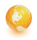 Orange Erde Lizenzfreie Stockfotos