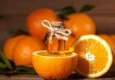 Orange Essential Oil Stock Photo