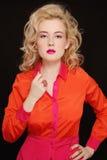 Orange et fuchsia photo stock
