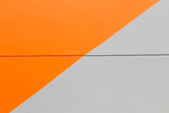 Orange et Gray Wall Abstract Background Texture Images libres de droits