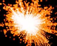 Orange Explosion Royalty Free Stock Image