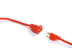 Free Orange Extension Cord Stock Images - 4746864