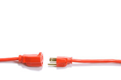Free Orange Extension Cord Royalty Free Stock Photography - 4746907