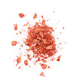 Orange eye shadow Stock Photography