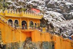 Orange fästning Royaltyfria Bilder
