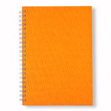 orange för bokanmärkning Arkivfoton