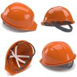 orange för hård hatt 3d Royaltyfri Foto