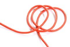 orange för kabelf8orlängning arkivbilder