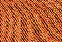 Orange fabric Royalty Free Stock Photography