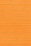 Orange fabric Stock Images