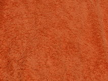 Orange Fabric. A background texture of an orange fabric Royalty Free Stock Photos