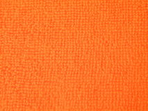 Orange fabric abstract Royalty Free Stock Photography