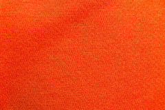 Orange fabric background Stock Photography