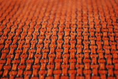 Orange fabric texture Royalty Free Stock Photos