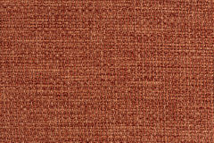 Orange fabric texture Stock Image