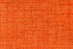 Orange fabric texture Royalty Free Stock Image