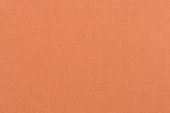 Orange fabric texture Stock Photos