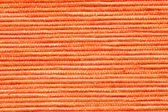 Orange fabric texture Stock Photos