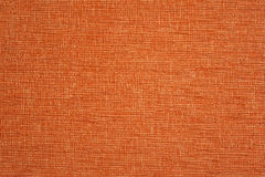 Orange fabric texture. Royalty Free Stock Photo