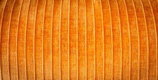 Orange fabric Stock Photos