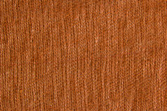 Orange fabric texture Stock Photography