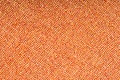 Orange fabric texture background Royalty Free Stock Image