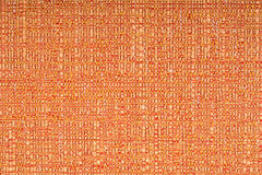 Orange fabric texture background Stock Images