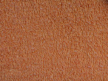 Orange fabric texture background Royalty Free Stock Images