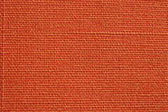 Orange fabric texture Stock Image