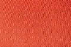 Orange fabric texture Royalty Free Stock Photos