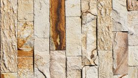 Orange facing stone, slate, sandstone and travertine marble texture. Backround royalty free stock photography