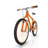 Orange Fahrrad Lizenzfreie Stockfotos
