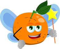 Orange fairy Royalty Free Stock Photos