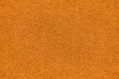 Orange felt background Stock Image