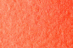 Orange felt fabric background Royalty Free Stock Images