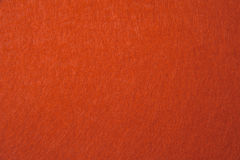 Orange felt texture Royalty Free Stock Photo