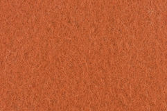 Orange felt texture Royalty Free Stock Photos