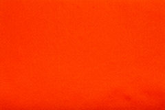 Orange felt tissue cloth, closeup texture background Stock Images
