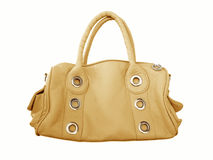 Orange female bag Stock Image