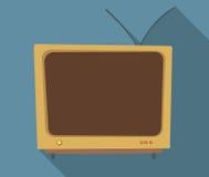 Orange Fernsehapparat Stockbilder