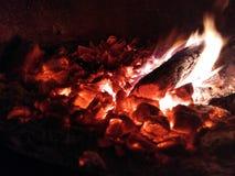 Orange Feuer stockbilder