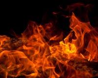 Orange Feuer Lizenzfreie Stockbilder