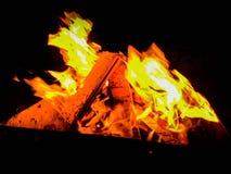 Orange Feuer stockfoto