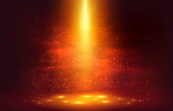 Orange fiery abstract vector magic background. Orange and red fiery abstract vector magic background Stock Photo