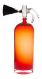 Orange fire extinguisher Royalty Free Stock Images