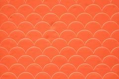Orange fish scale seamless pattern Stock Image