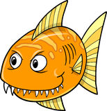 Orange fish Vector Royalty Free Stock Photography