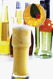 Orange Fizz Cocktail Royalty Free Stock Images